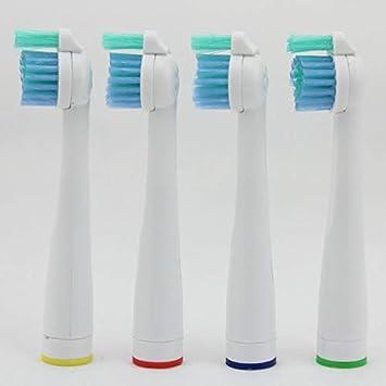 4 cabezales de repuesto para cepillo de dientes eléctrico Philips Sonicare Sensiflex HX2014 / HX1600 / HX2012 (4): Amazon.es: Salud y cuidado personal