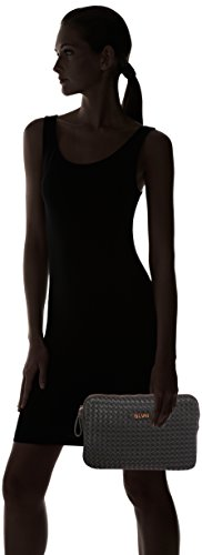 Silvian Heach - Roasio, Bolsas para portátil Mujer, Nero, 33x22x3 cm (W x H L)