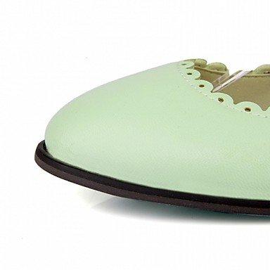 Cómodo y elegante soporte de zapatos de las mujeres pisos de primavera/verano/otoño plataforma/comodidad/novedad/de piel Patent leatherettewedding/oficina y carrera/Fiesta y Noche negro
