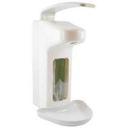 BASIC PLUS 1 Wandspender für 500 ml Flaschen Seifenspender Spender Desinfektionsspender
