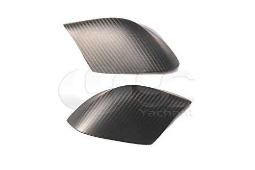 - Car-Styling Dry Carbon Fiber Matte Mirror Cover Fit For 08-15 R35 GTR GTR35 VS Style Side Low Mirror Under Cover