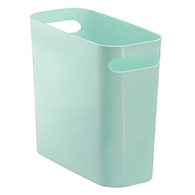 InterDesign Una Trash Can 10 , Mint
