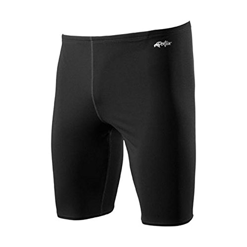 Dolfin Solid Polyester Jammer Male Black 26