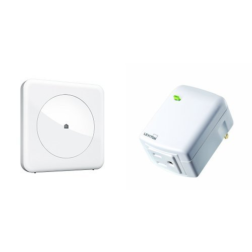 Wink Connected Home Hub and Leviton Plug-In Appliance Module Bundle, Works with Amazon Alexa
