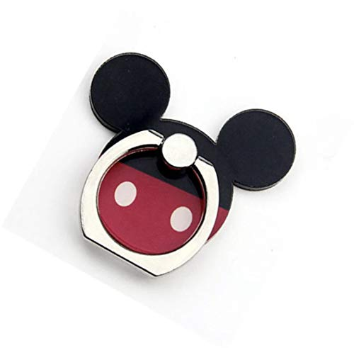 Mickey, Universal Smartphone Kickstand Cell Phone Ring Holder High Viscosity Finger Stand Grip Reusable Washable 360 Rotation for iPhone ipad Samsung Google HTC Most (Mickey Mouse Cell Phone)