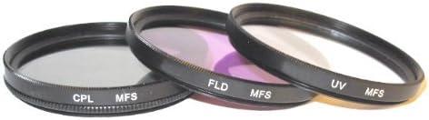 HS33EXR HS28EXR CPL /& FLD for Fujifilm HS10 HS30EXR UV HS20EXR HS11 HS25EXR HS22EXR Maxsima HS50EXR 58mm Filter Set Fuji Finepix.