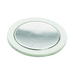 Espresso Machine Gasket - Bialetti 06964 replacement gasket/filter for 12 cup makers.