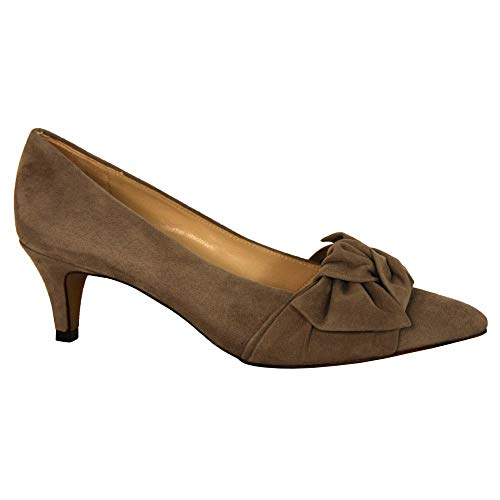 Suede Kaiser Court Shoe 55229 Carry Taupe Peter CYaww