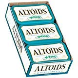 Altoids Wintergreen Candy, 1.76oz Tin Container, 12 - Gum Box Tin