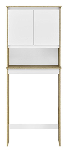 Ameriwood Home Stafford Storage Cabinet Weathered Oak by Ameriwood Home (Image #4)
