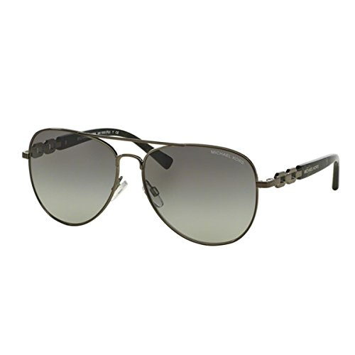 Michael Kors Fiji Sunglasses MK1003 100211 Gunmetal Grey Gradient 58 14 - Price Sunglasses Of Michael Kors
