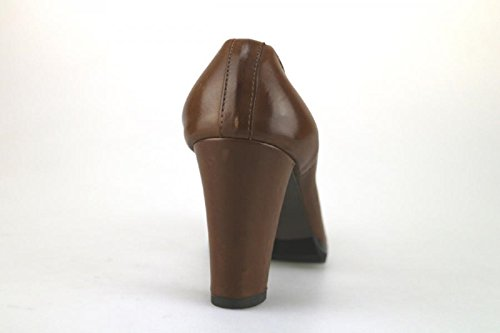 CALPIERRE 36 EU Zapatos de Salón Marrón Cuero AJ393