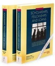 Scholarships, Fellowships & Loans, 27th Edition