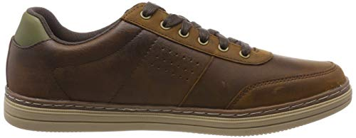 Skechers Baskets Homme Cdb dark Heston avano Brown Marron Ertwr16q