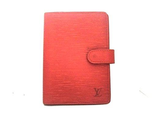 (ルイヴィトン) LOUIS VUITTON 手帳 カスティリアンレッド R20057 アジェンダPM 【中古】 B07FNK42N6