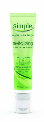 Simple revitalisant pour les yeux Roll-On, 0,5 once