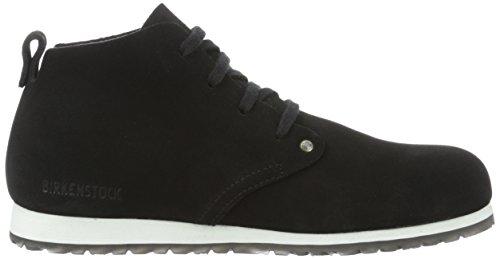 Birkenstock Dundee, Zapatos Derby, Hombre Negro (Black)