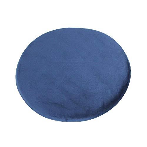 PROKTH Cojin de Almohada de meditacion Zafu Yoga Relleno de algodon de Memoria - Redondo - 40x40x5 cm - 1 Piezas