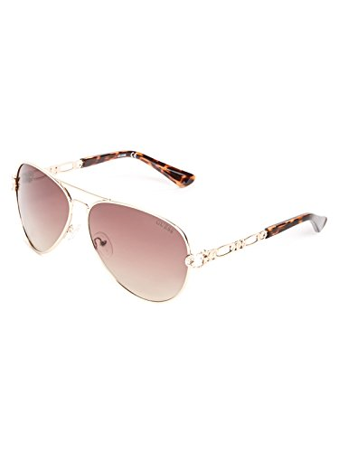 GUESS Factory Women's Figaro Chain Aviator - Aviator Guess
