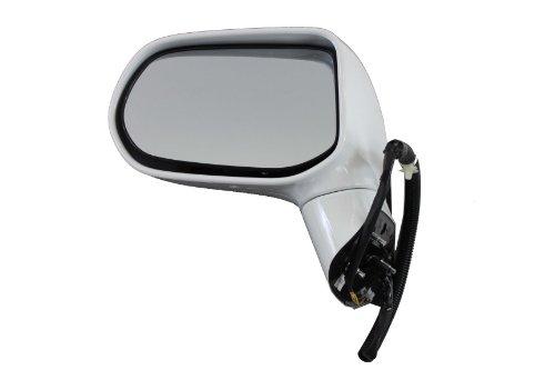 Mirror Left Door Assembly (Genuine Honda Parts 76250-SNE-A02ZD Honda Civic/Civic NGV Left Side Taffeta White Door Mirror Assembly)