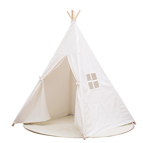 Small Canvas Teepee Indian Play Tent