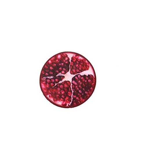 NOMENI Half-Side Fruit Slow Rebound Decompression Toy Slow Rise Lemon Fruit Anti-Stress Gadget - Pressure Relief Squeeze