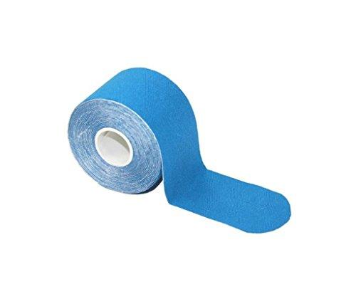 Skysper- 1 Rolle 5cm * 5m Kinesiologie Tape,Sports Tape,elastische Qualitäts-Bandage für Sport, Freizeit, Physiotherapie und Medizin