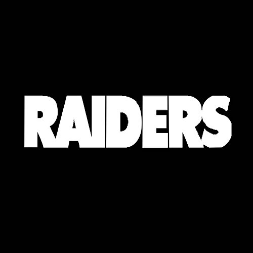 Connoworld Clearance Sale 2018 Raiders Car Truck SUV Sticker Letter Adhesive Decal Reflective PET Decoration