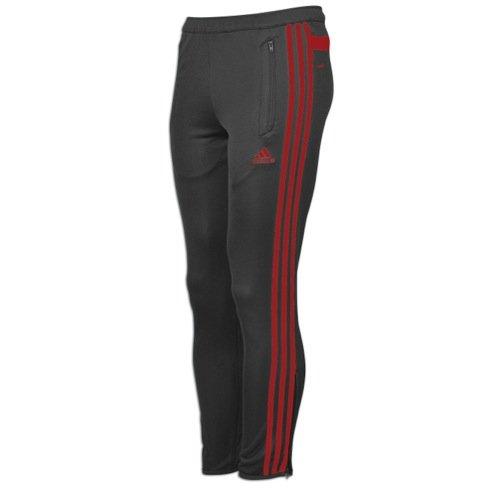 adidas New Men's Tiro 13 Training Pants Night Grey/Solar Red XX-Large (Adidas Tiro 13)