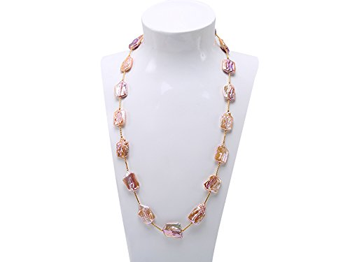26 Inch Cultured Pearl Necklace - 1