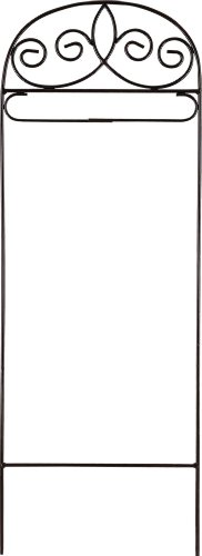 Garden / Mini Size Flag Arbor Fleur De Lis Design Stand 42 Inch (Garden Arbor Designs)