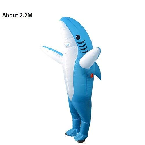 (Party Diy Decorations - Funny Party Inflatable Costumes Cartoon Chicken Shark Parrot Cosplay Costume Holiday Carnival - Decorations Party Party Decorations Shark Dinner Bird Feather Fish)