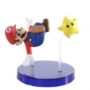 Super Mario Galaxy Trading Figure - Mario (2 Figure) by Super Mario Brothers (Super Mario Galaxy Trading Figure)