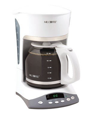 Mr.Coffee White Coffeemaker