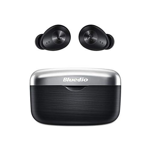 chollos oferta descuentos barato Auriculares Bluetooth Bluedio Fi Faith Auriculares Inalámbricos In Ear con Sonido Estéreo AptX Graves Profundos HD CVC 8 0 Reducción de Ruido Control Táctil Bluetooth 5 0 para iPhone y Android