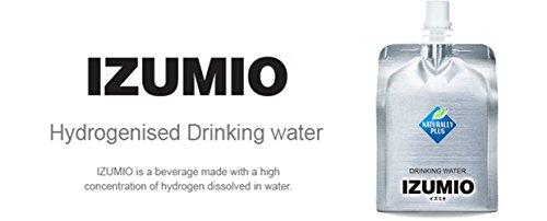 IZUMIO Hydrogen Infused Water, Pure Drinking Water, 2.6ppm (30) by NP
