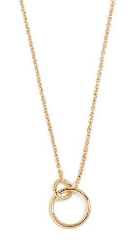 Gorjana Women's Wilshire Charm Necklace, Yellow Gold, One Size by Gorjana
