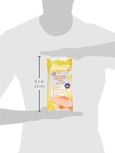 80 Wipes Morrisons Multi Purpose Antibacterial Citrus Shine