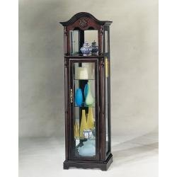 ACME 02349 Gigi Curio, Cherry Finish (Display Asian Cabinet)