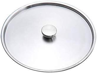 LXD Pot, Grande Marmite, couvert Marmite, Stock en acier inoxydable Pots Casserole soupe Cocotte; couvercles,40 * 39cm