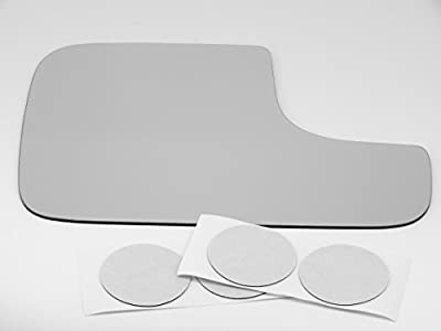 Fits 98-08 Dodge Ram 1500 2500 3500 Right Passenger Flip Up Tow Mirror Glass Lens