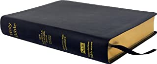 NASB Side-Column Reference Wide Margin Bible; Black Leathertex (1581351585) | Amazon Products