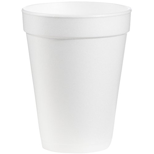 (Dart DRC14J16 Styrofoam Insulated Foam Cups, 14 oz (Pack of 25))