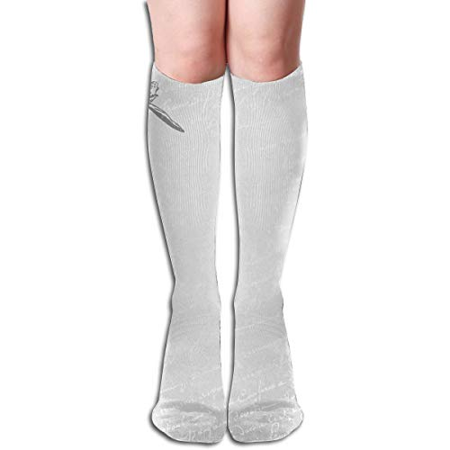 Women Socks Over Knee Printable Paris Clip Art Winter Custom Personalized For Halloween]()