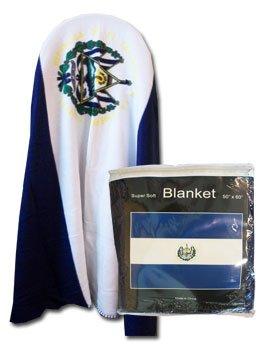 """El Salvador - 50"""" x 60"""" Polar Fleece Blanket"""