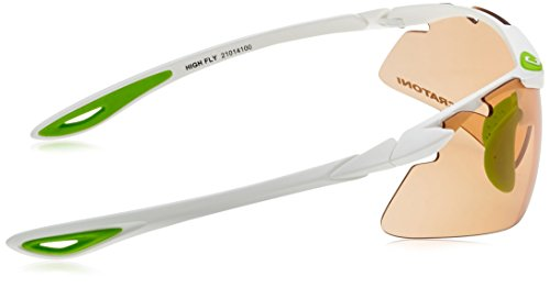 Cratoni lunettes de vélo fly high taille unique Rouge - Rouge mat h5QphtG