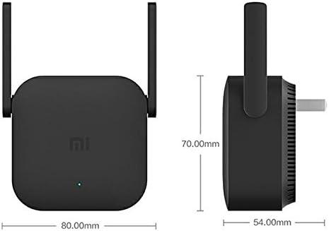 Generico Xiaomi Pro 300m Wlan Verstärker 2 Externe Antennen 300 Mbps Datenübertragungsrate 64 Unterstellungen Plug And Play App Elektronik