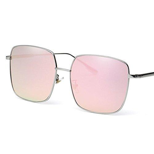 Couleur pour de soleil carrées couple Rose vintage Sunglasses hommes conduite Lunettes soleil lunettes MAHZONG de soleil de Noir lunettes de 4ZzwgqxZT8