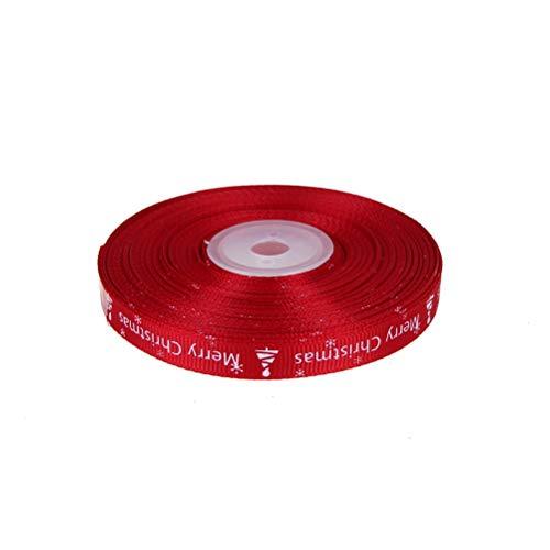 (Gift Bags & Wrapping Supplies - 10 Mm 25 Yards Lot Christmas Ribbon Diy Craft Gifts Xmas Party Handmade Gift Packing - Ribbons Ribbon Decoration Gift Bags Wrapping Supplies Year Tartan Ribbon He)
