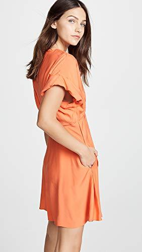 Robe Corail Jupe Plissée Femmes Carven